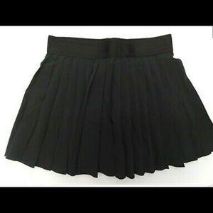 Nike victory royal pleated skirt